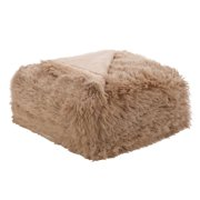 "PiccoCasa Shaggy Faux Fur Blanket Fiber Bed Blanket, Full 70"" x 78"""