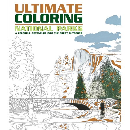 Ultimate Coloring National Parks : A Colorful Adventure Into the Great (Rd National)