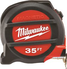 Milwaukee Magnetic Tape Measure, 35 Ft.