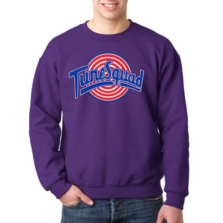 487 - Crewneck Tune Squad Space Jam Basketball Team Sweatshirt (Space Jam Outfit)