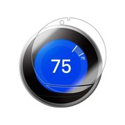 Deco Essentials Tempered Glass Screen Protector for Nest Learning Smart Thermostat (3rd Gen)