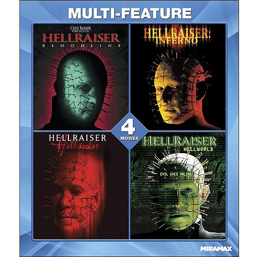 Hellraiser Collection 4 Film Set (Blu-ray) (Widescreen)