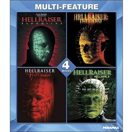 Hellraiser Collection 4 Film Set (Blu-ray) (Widescreen)