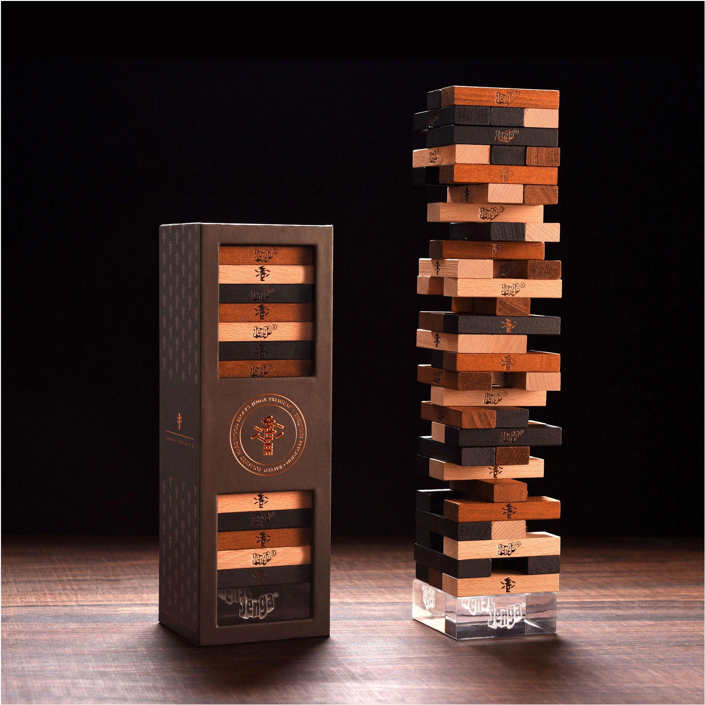 Jenga Premium Exquisite Precision Blocks