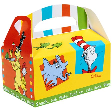 Dr. Seuss Favorites Favor Box - Doctor Seuss Birthday