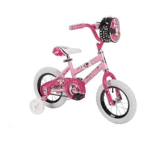 "12"" Huffy Girls' Minnie Bike by"