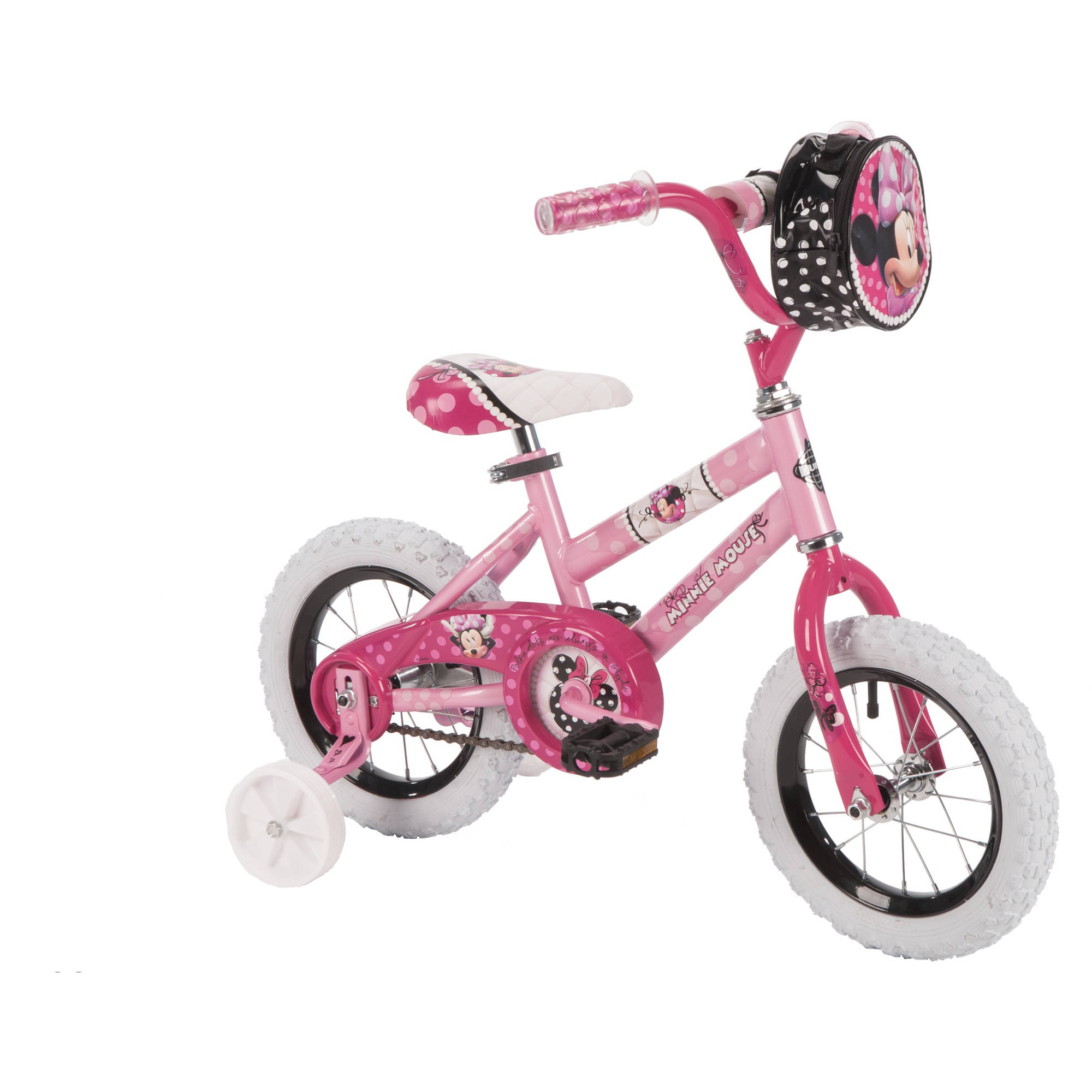 "12"" Huffy Girls' Minnie Bike"