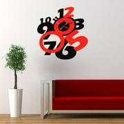 Ebern Designs Capers DIY 3D Wall Clock