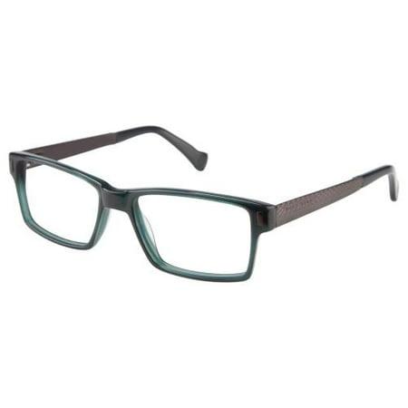718c791430 MARC ECKO CUT   SEW Eyeglasses OVERTONE Green 54MM - Walmart.com