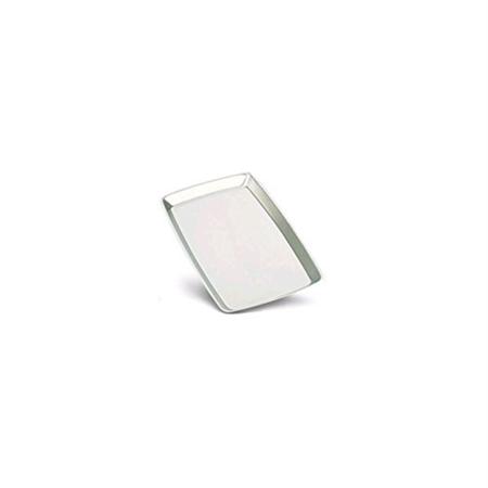 (JB Prince Stainless Steel Rectangular Sizzle Platter)
