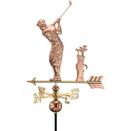 Good Directions Golfer Weathervane