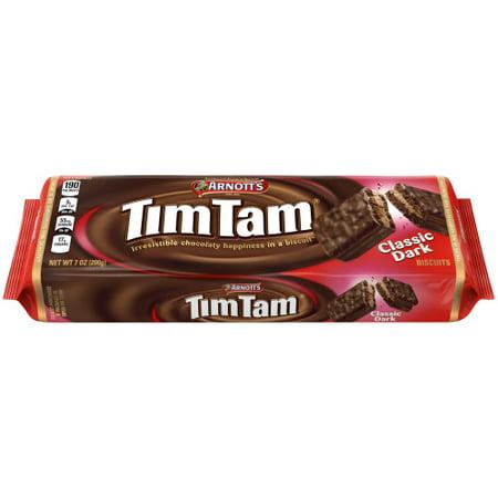 Tams Near Me >> Arnott S Tim Tam Dark Chocolate Cookies 7 Oz Tray