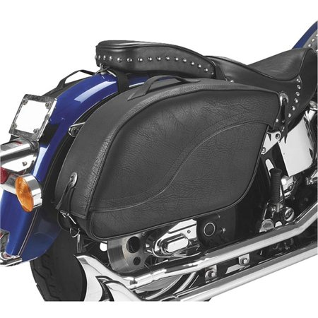 All American Rider 8805P Futura 2000 Saddlebags - Classic - No Studs (Detachable) - New Detachable Saddlebags