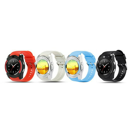 TechComm V8 Smart Watch with Camera, Bluetooth, GSM and IPS