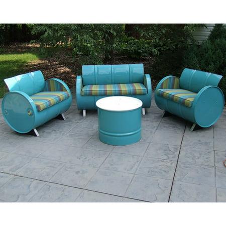 Drum Works Garden Patio Seating Cushion