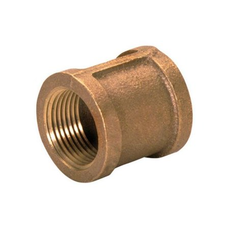 0.5 in. FPT Red Brass Lead Free Coupling (0.5 Brass Coupling)