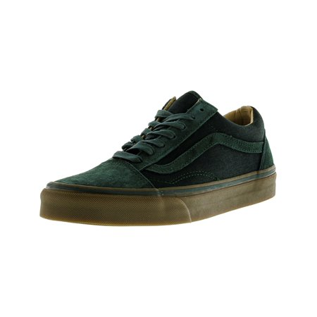 55d855e4ad042d VANS - Old Skool Reissue Coated Green Gables   Medium Gum Ankle-High  Skateboarding Shoe - 9M 7.5M - Walmart.com
