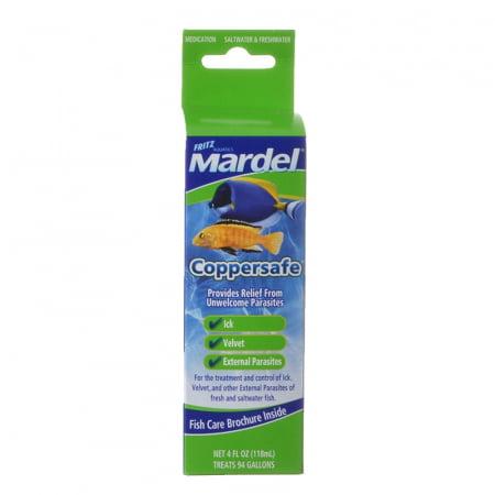 Mardel Copper Safe Saltwater Freshwater Medication - 4 (Copper Fish)