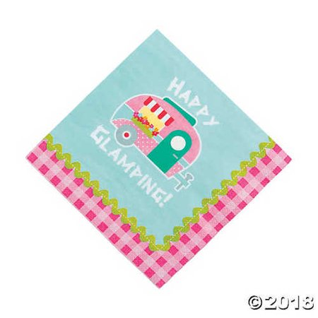 Camp Glam Luncheon Napkins -