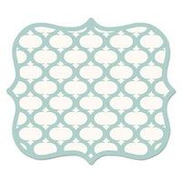 9 x 8 x 0.06 in. Designer Mouse Pads, Lattice