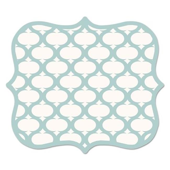 Fellowes Manufacturing 5919001 9 x 8 x 0.06 in. Designer Mouse Pads, Lattice