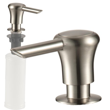 Kitchen Sink Soap or Lotion Pump Dispenser, Stainless Steel ...