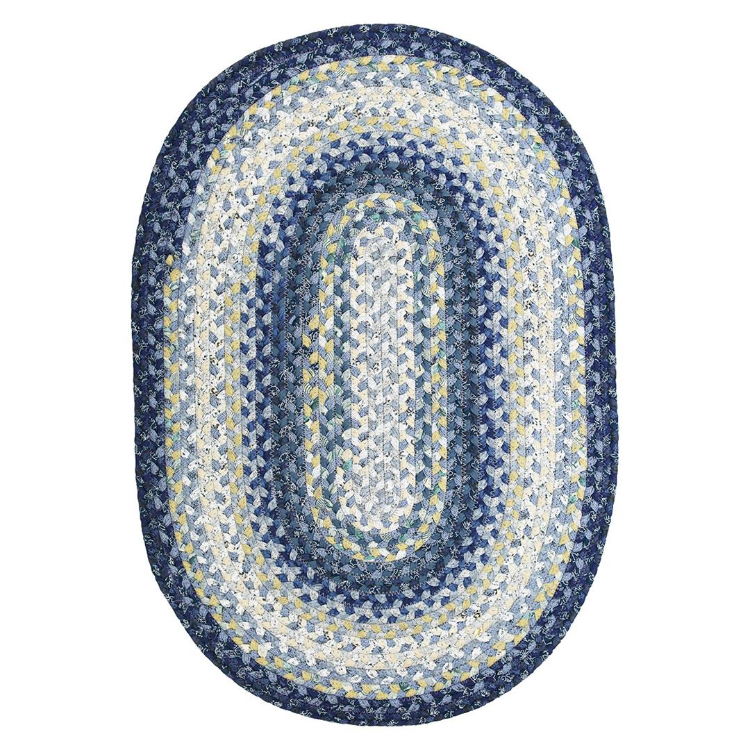 Homespice Wedgewood Braided Oval Rug - (3 foot x 5 foot)