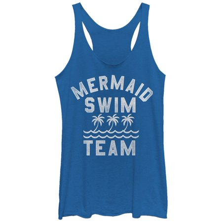 4c162655eae49 Lost Gods - Women's Mermaid Swim Team Racerback Tank Top - Walmart.com