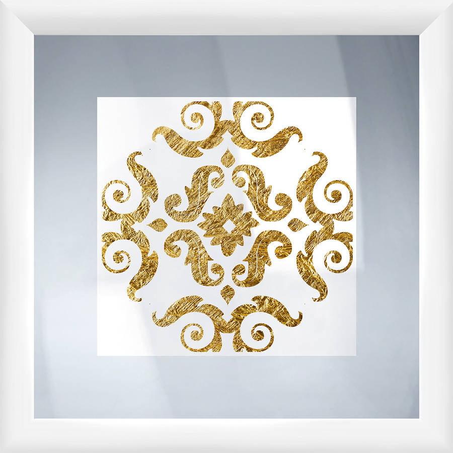 Gold Ornaments II Wall Art, 18x18
