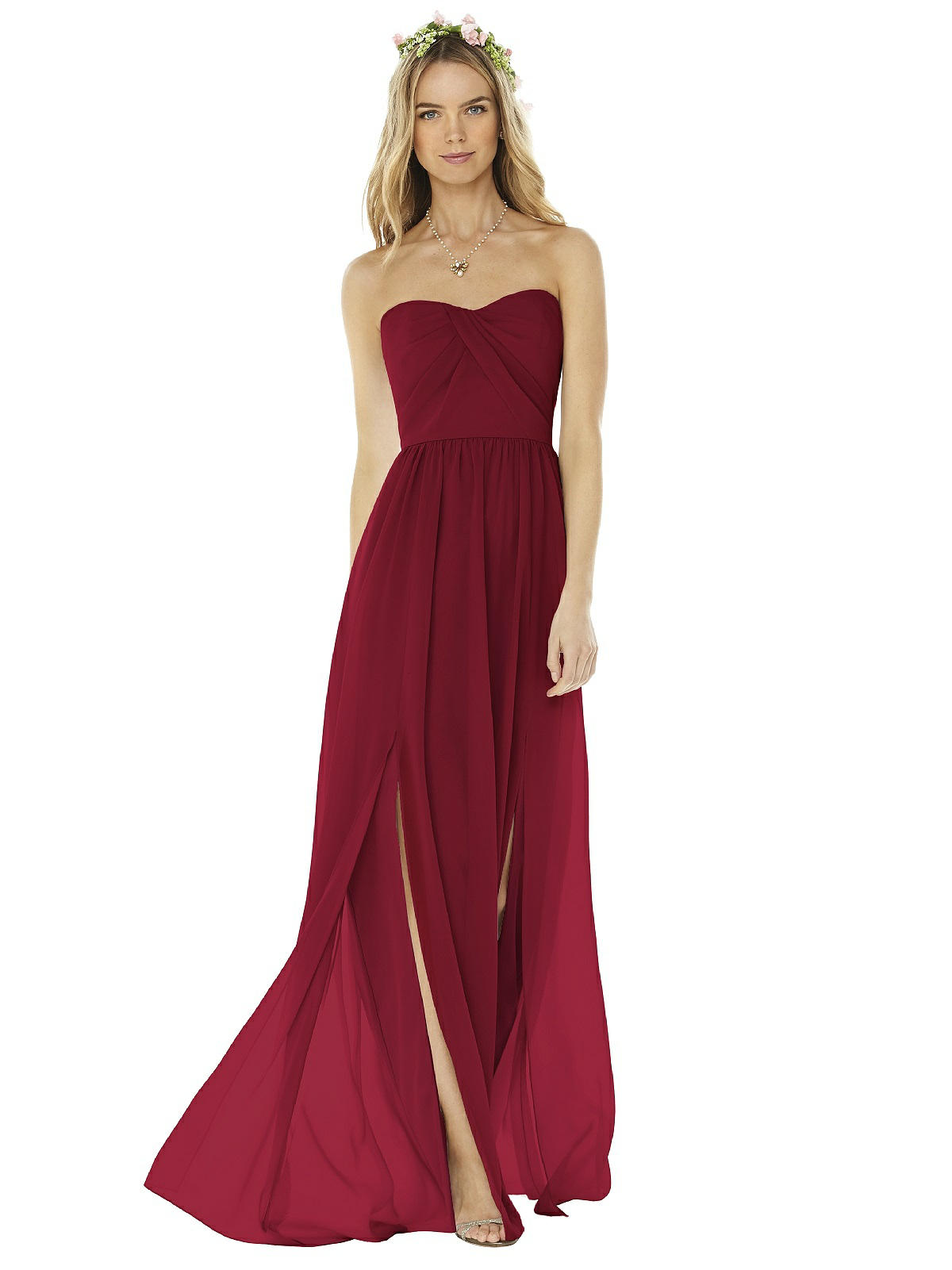 Social Sweetheart Neckline Bridesmaids Dress