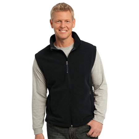Port Authority Mens Super Soft Fleece Adjustable (Running Mens Vest)