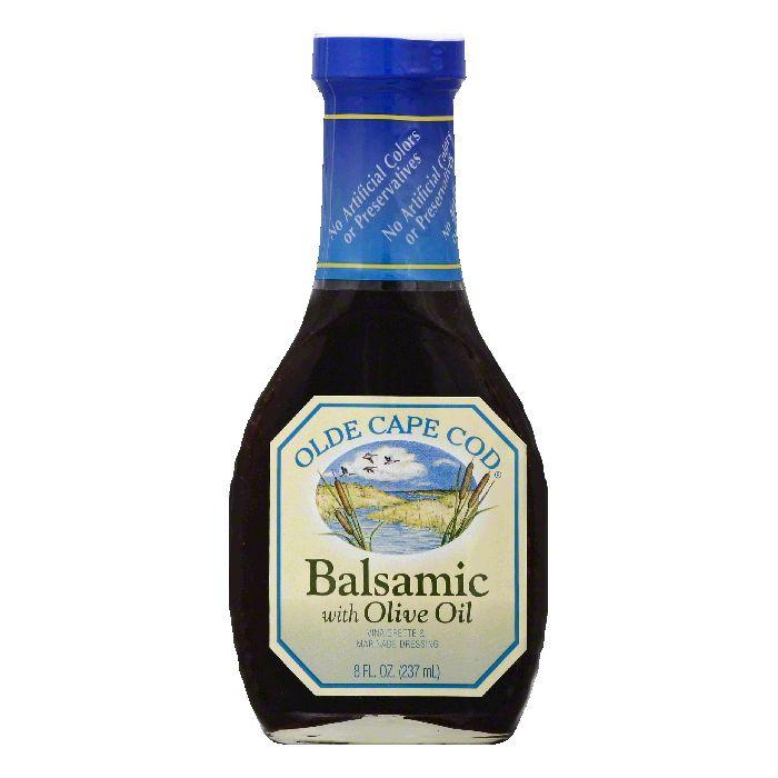 Olde Cape Cod Balsamic Vinaigrette with Olive Oil, 8 OZ (Pack of 6)