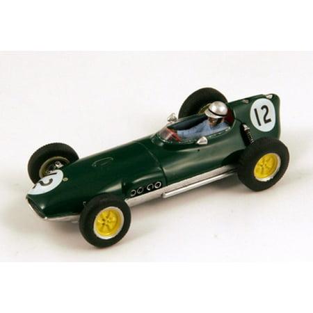 Team Lotus 16, No.12, Dutch GP 1959 Innes Ireland Model Car in 1:43 Scale by Spark