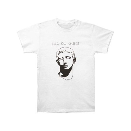 Gusta Shirt - Electric Guest Men's  Face On White Slim Fit T-shirt White
