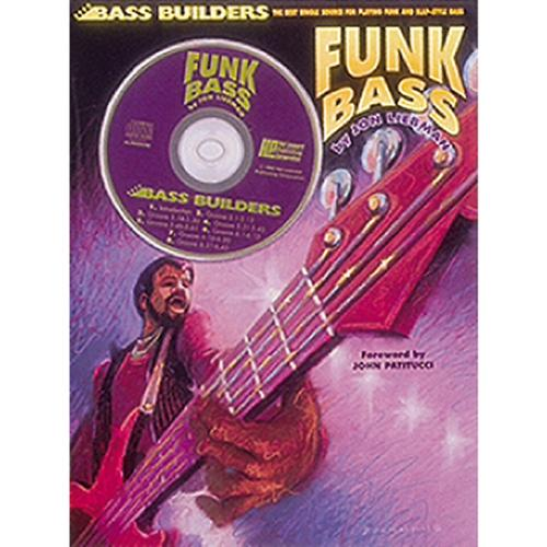 Hal Leonard Funk Bass Book/CD