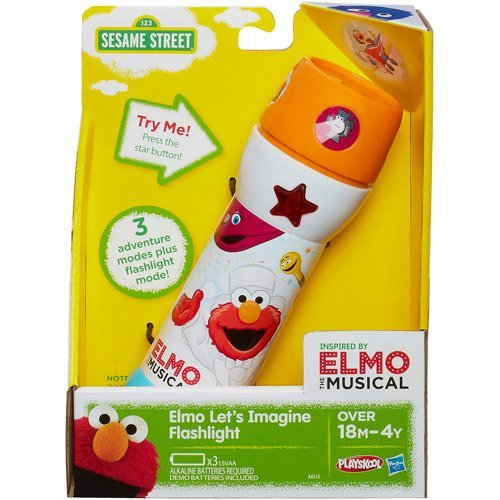 Playskool Sesame Street Elmo Let's IMagine Flash By Generic by