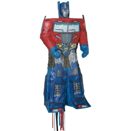 Optimus Prime Transformers Pinata, Pull String - Transformers Birthday