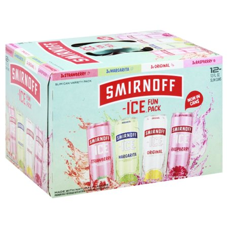 Smirnoff Ice Variety Fun Pack, 12 pack, 12 fl oz Cans