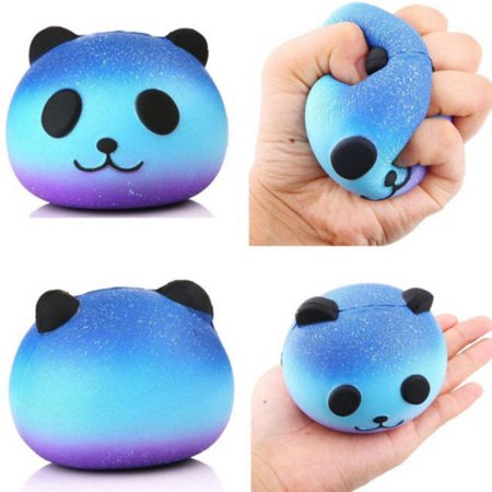 Jumbo Galaxy Panda Squishy Scented Slow Rising Cartoon Kids Hand Funny Soft -