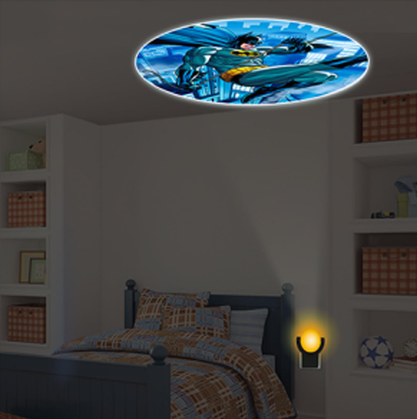 DC Comics Collectors Edition Batman LED Night Light Projectables (Bat Signal) by