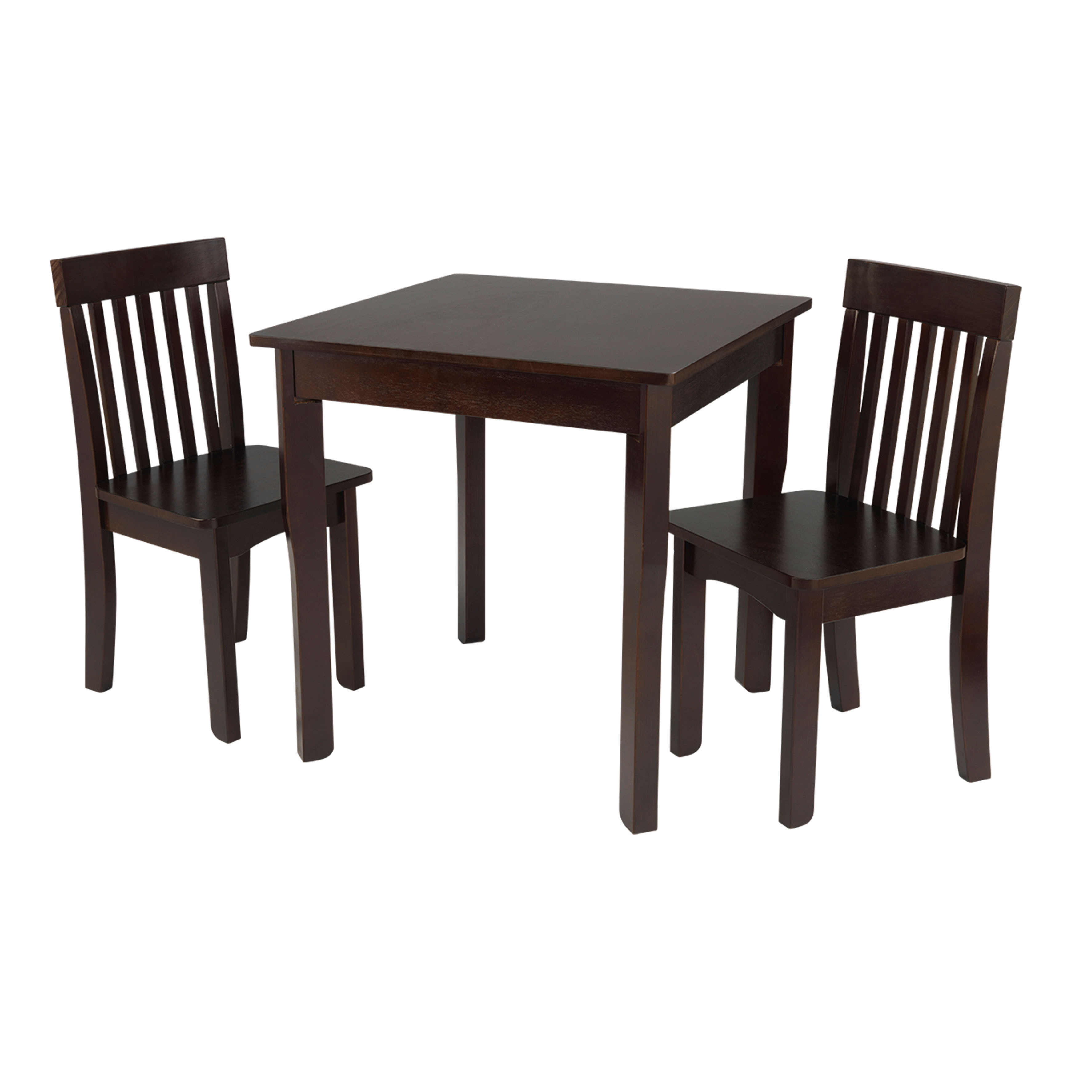 KidKraft Avalon Square Table & 2 Chair Set Espresso by KidKraft, Inc.