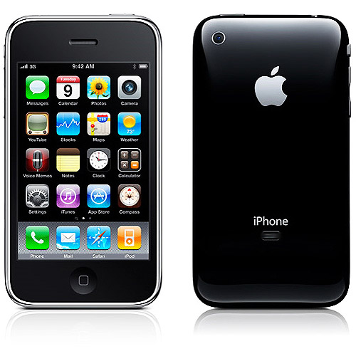 iPhone 3GS 16GB, Black (Phone price based on new line activation or eligible upgrade with 2-year contract)