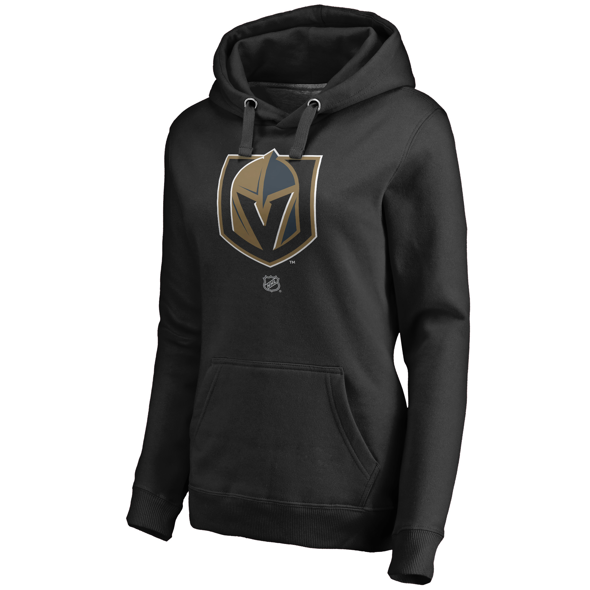 7e16b5e7b Vegas Golden Knights Fanatics Branded Women s Personalized Team Authentic  Pullover Hoodie - Black - Walmart.com