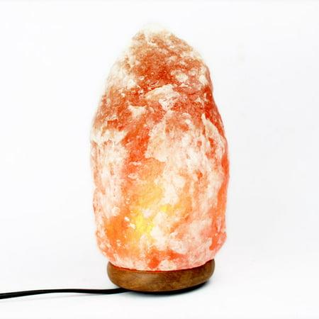 Himalayan Natural Salt Crystal Lamp, Soft Pink - Walmart.com
