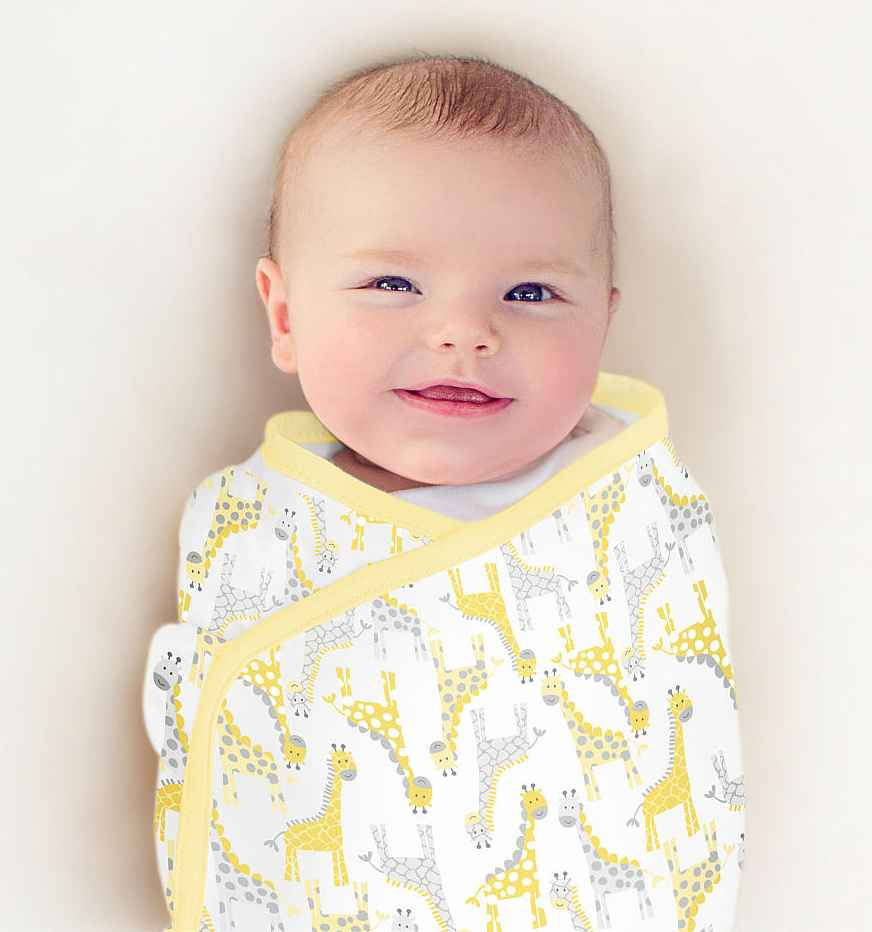 Summer Infant SwaddleMe Single Little Giraffe, Small