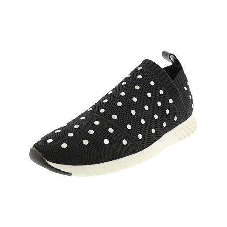 f67060230ba20 Dolce Vita Women's Bruno Black Knit Ankle-High Fabric Fashion Sneaker - 8.5M
