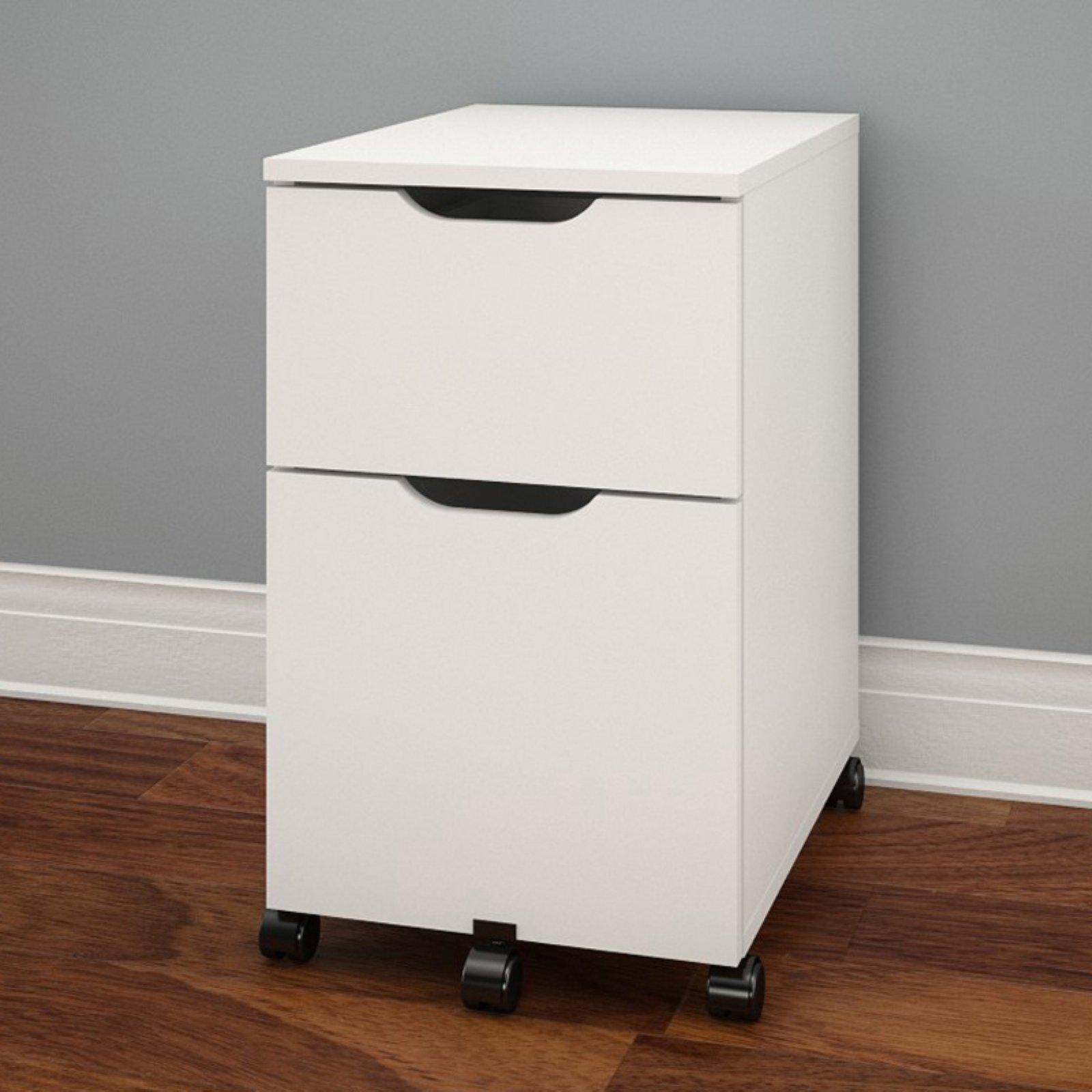 Nexera Arobas Mobile File Cabinet - White