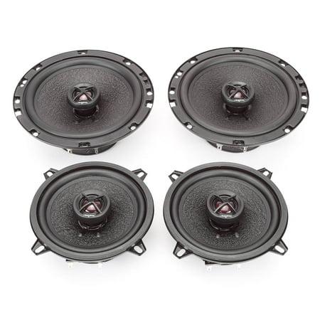 2007-2011 GMC Sierra Complete Premium Factory Replacement Speaker Package by Skar Audio