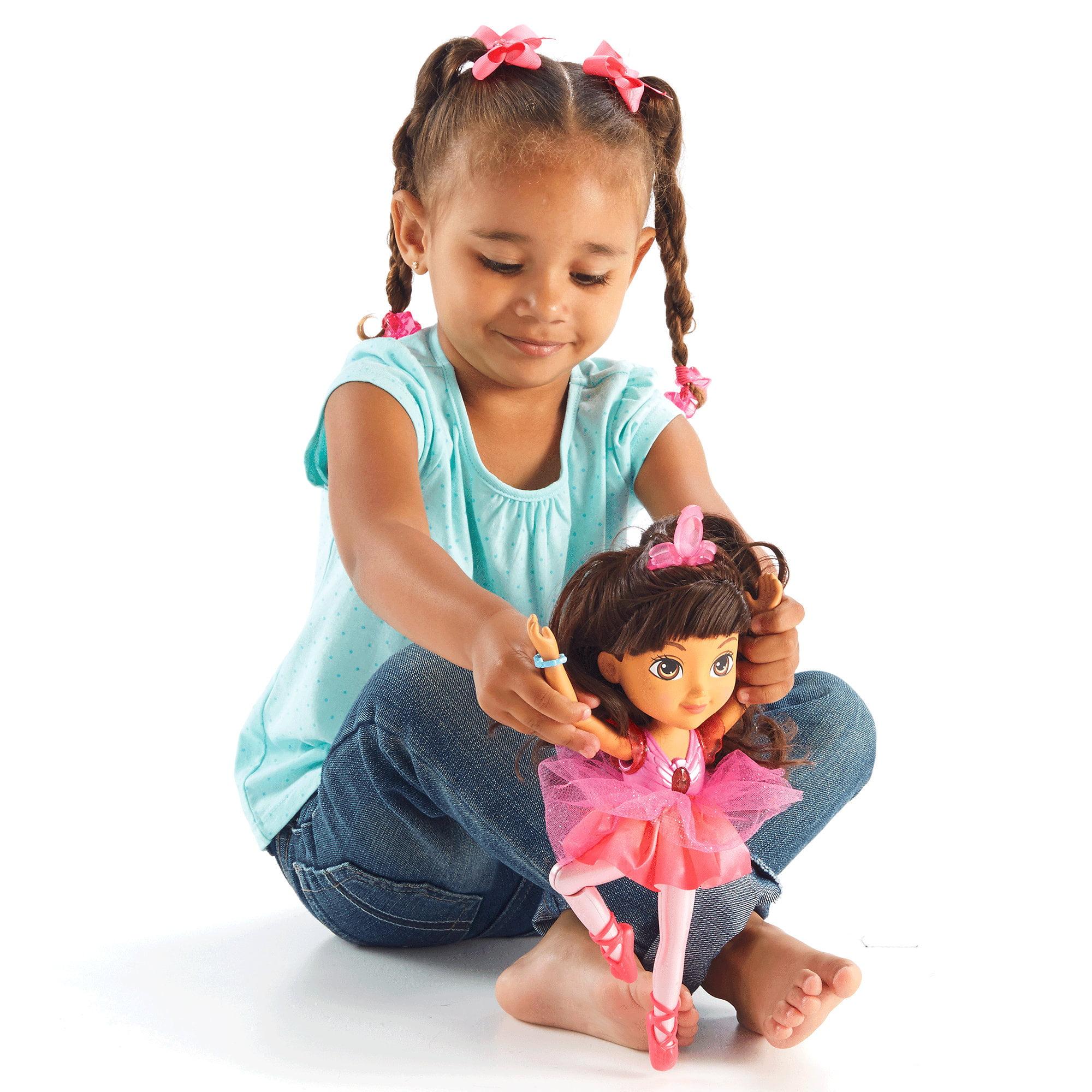 Nickelodeon Dora and Friends Sparkle & Spin Ballerina Dora by Mattel