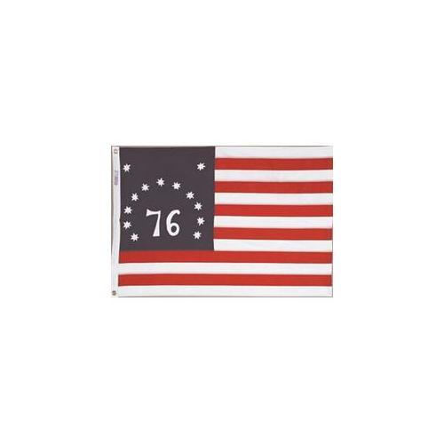Annin Flagmakers 315220 2 ft. X 3 ft. Nyl-Glo Bennington Embroidered by